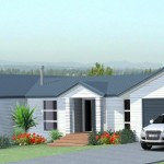 3D model and render of new house