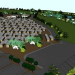 3D model of workers village